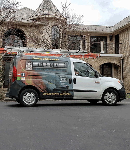Dryer Vent Cleaning Suffolk County LLC Van